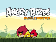 Play Angry Birds Bubble Shooter