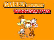 Play Garfield and Friends Bubble Sh