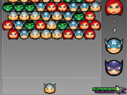 Play The Avengers Bubble Shooter