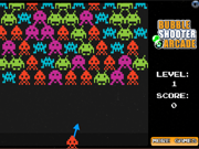 Space Invaders Bubble Shooter